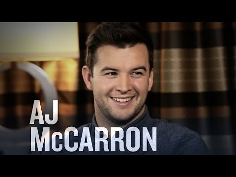 AJ McCarron on the NFL draft, his hair, and Grammy performances