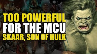 Too Powerful For Marvel Movies: Skaar, Son Of The Hulk