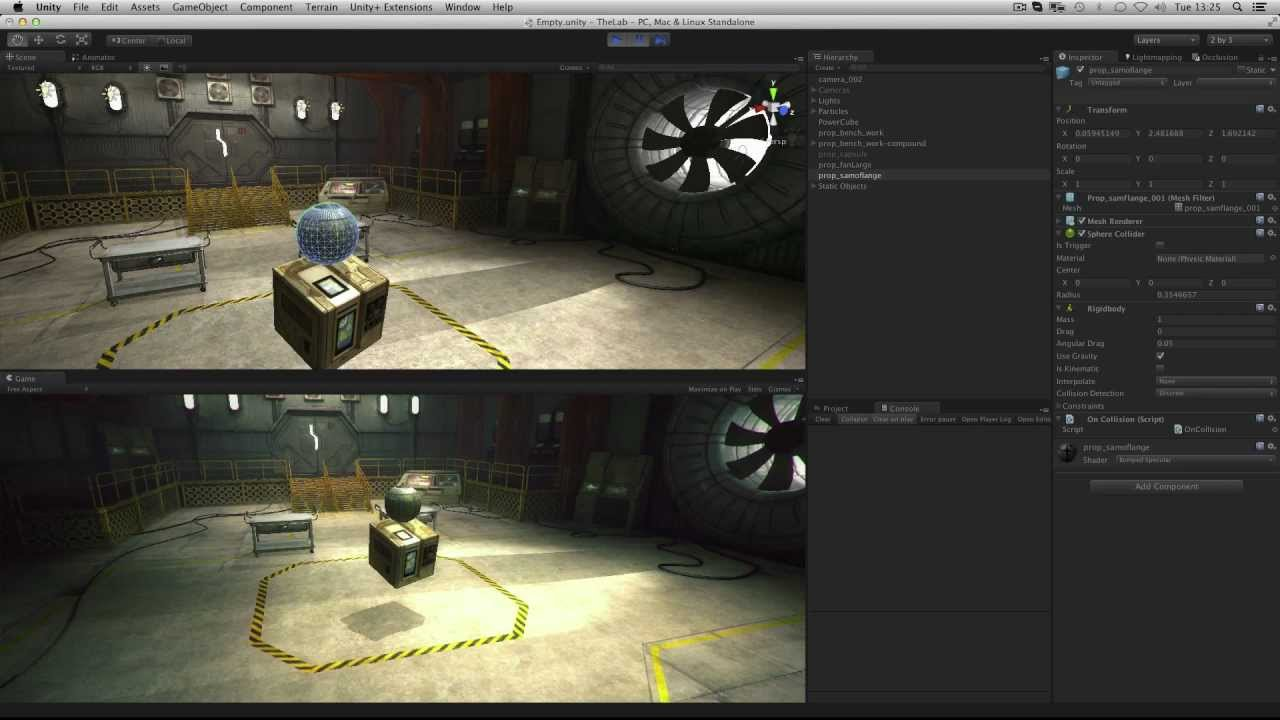 Colliders - Unity Official Tutorials