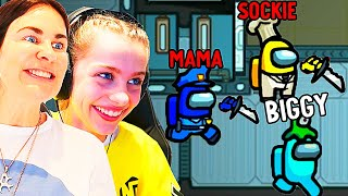 MAMA AND SOCKIE GOT IMPOSTOR - Among Us Gaming w/ The Norris Nuts