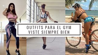 OUTFITS DEPORTIVOS MUJER/FITNESS CENTER