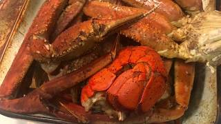 REHEATING A SEAFOOD BOIL MEAL!