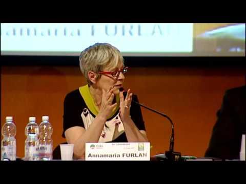 L'intervento della leader Cisl Annamaria Furlan al XII congresso Cisl Piemonte