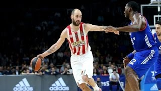 Vassilis Spanoulis Highlights vs Anadolu Efes   2016/17 Euroleague Playoffs