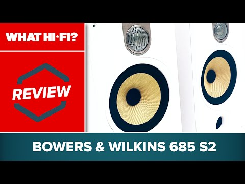 Bowers & Wilkins 685 S2 speakers review