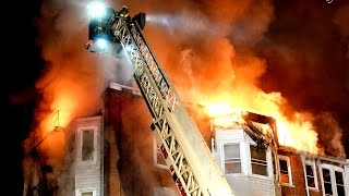 preview picture of video '4-Alarm Fatal Apartment Building Fire in Norristown, PA'