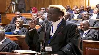 PLO Lumumba lights up court - VIDEO