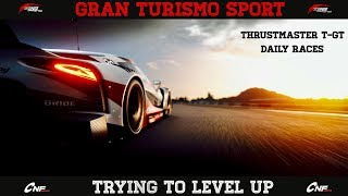 GT Sport - Daily Races With T-GT Wheel (Leveling up)