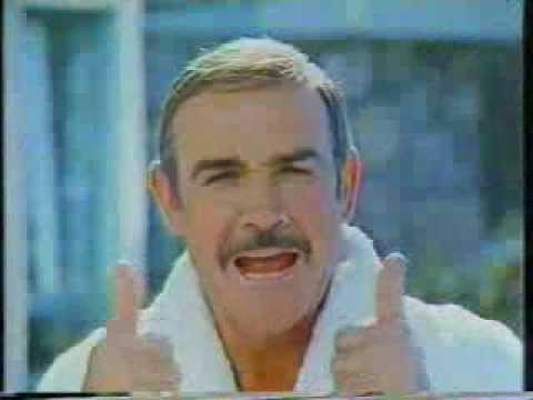 Sean Connery Yogurt CM