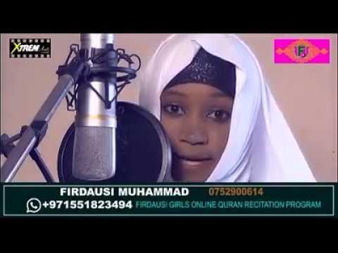 Beautiful Qur'an recitation from Farida