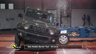 Official Suzuki Jimny safety rating