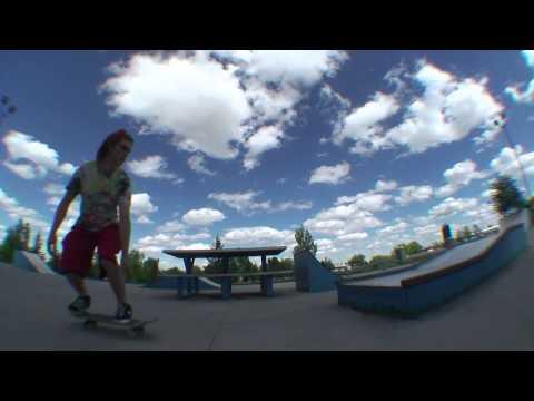 Old Skatepark Leftover Montage (Gillette, WY)
