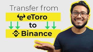 Kann ich Bitcoin von ETORO in eine andere Brieftasche ubertragen?