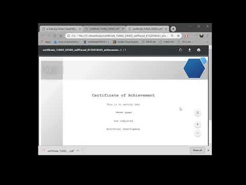 Training & Development Manager - Certificates - YouTube