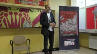 Prawda o pogromie kieleckim- spotkanie z Dariuszem Walusiakiem
