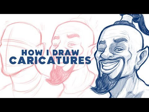 how to draw caricature of will smith as a genie tutorial by kesh