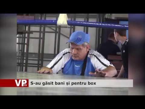 S-au găsit bani și pentru box