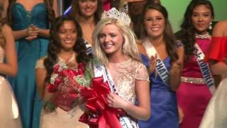 Megan Ski Hollingsworth Miss Tennessee Teen USA 2017 Crowning