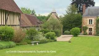 preview picture of video 'Jardin de Normandie : Les Jardins du Prieuré de Crouttes'