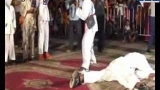 preview picture of video 'عروض الكراتي مهرجان سيدي يحيى الغرب  2014'