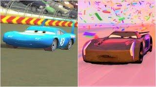 Cars 1 Strip Weathers vs Cars 3 Jackson Storm