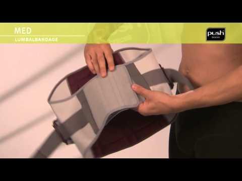 Push Med Rückenbandage auf PhysioRoom.de