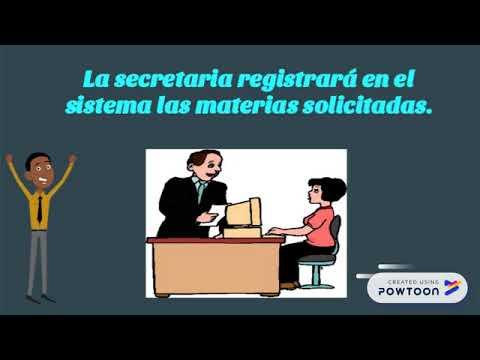 PROCESO DE MATRÍCULA PARA ESTUDIANTES REGULARES