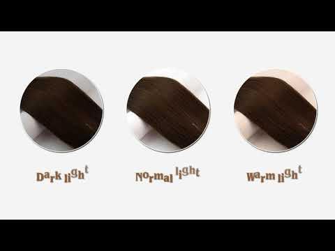 Full Shine 100% Human Hair Halo Extension Dark Brown(#4)
