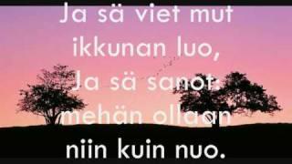 Juha Tapio - Kaksi puuta (lyrics)