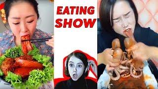 ЧТО ОНИ ЕДЯТ?! Реакция на Eating Show Корейцы едят Mukbang Мукбанг АСМР ASMR TheViktoryShow