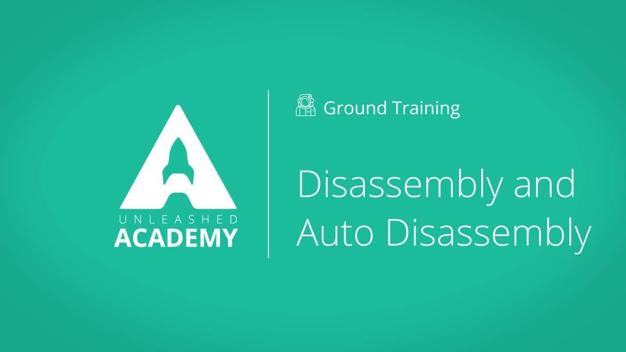 Disassembly & Auto Disassembly YouTube thumbnail image