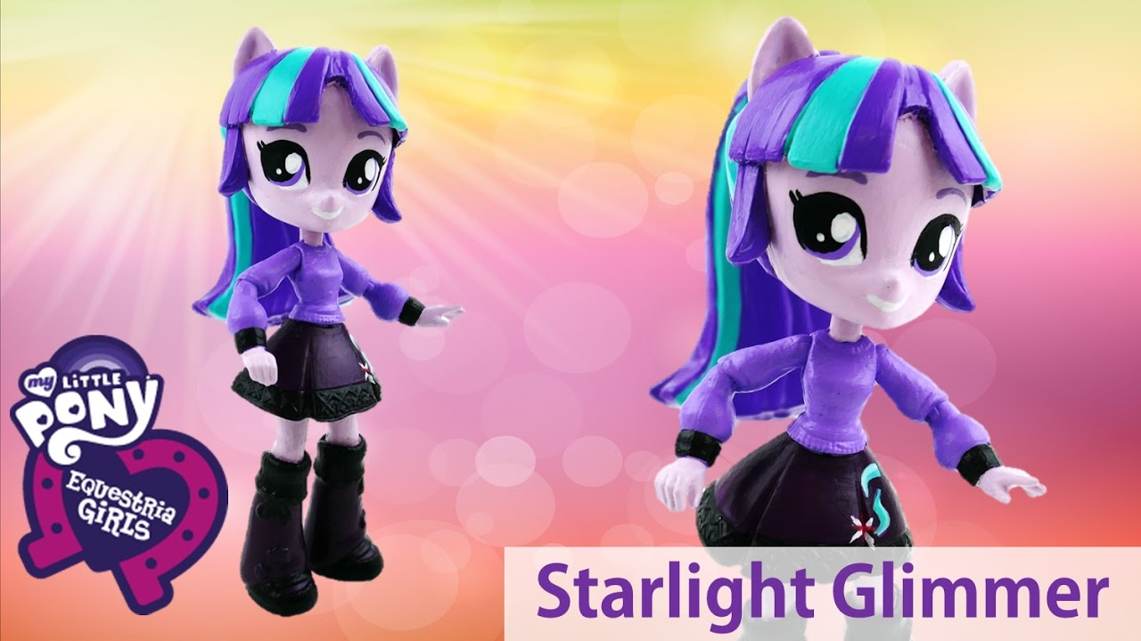 DIY My Little Pony Starlight Glimmer Equestria Girls Minis Doll Custom Toy Tutorial | Evies Toy House
