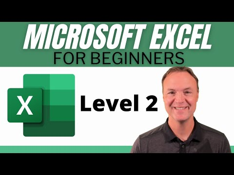 Microsoft Excel Tutorial - Beginners Level 2 - YouTube
