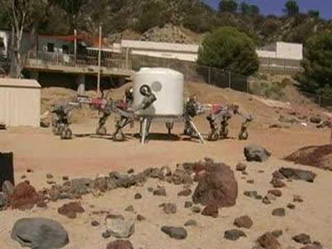 NASA's ATHLETE Hex-Legged Lunar Robots Now Work in Pairs