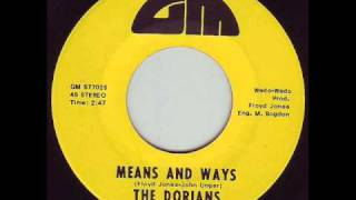 'Means and Ways' The Dorians