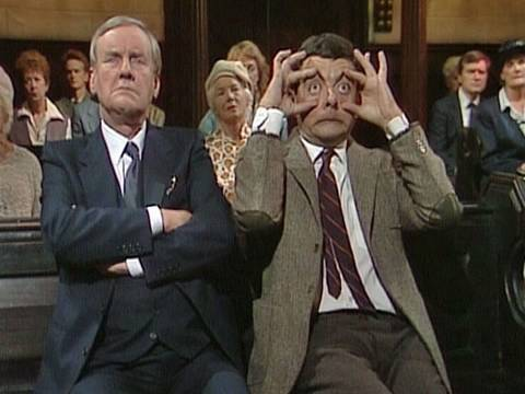 Falling Asleep in Church | Funny Clip | Mr Bean Official