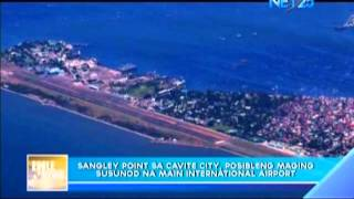 Possible new international airport in Sangley Point, Cavite