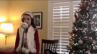 Grace Robertson singing Jolly Old Saint Nicholas
