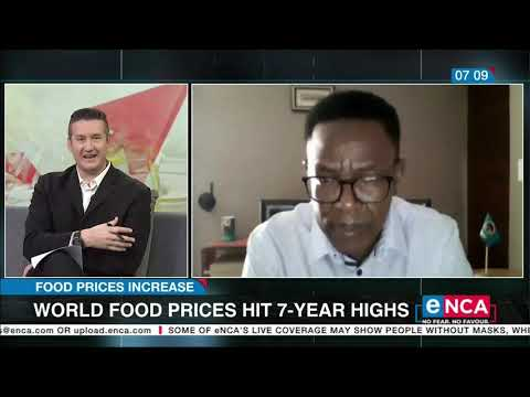 World food prices hit 7 year highs