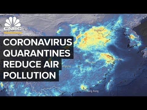 Πώς ο κορωνοϊός μείωσε την ατμοσφαιρική ρύπανση