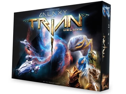 UndeadViking Videos - Galaxy of Trian Review - A beautiful but oh so tiny galaxy to fight over
