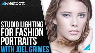 Studio Lighting Setup For Fashion Portraits With Joel Grimes