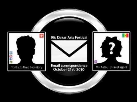 Re: Dakar Arts Festival