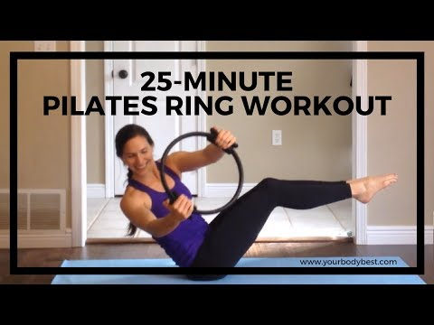 25-Minute Full Body Pilates Ring Workout