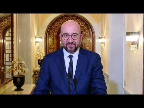 Déclaration de presse - Charles Michel - président du Conseil européen
