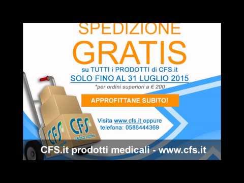 CFS.it prodotti medicali - Spedizione Gratuita fino al 31 luglio 2015