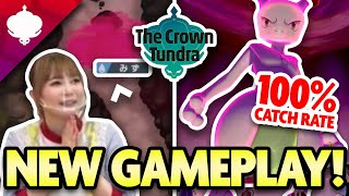 NEW GAMEPLAY for CROWN TUNDRA RAIDs! RAID DEN Info for Pokemon Sword and Shield by aDrive