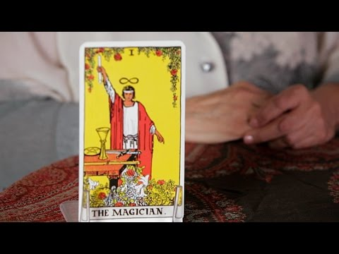 How to Read the Magician Card   Tarot Cards - YouTube