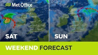 Weekend weather - Changeable with some rain 16/08/18