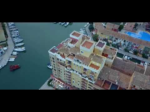 Port Saplaya a vista de dron
